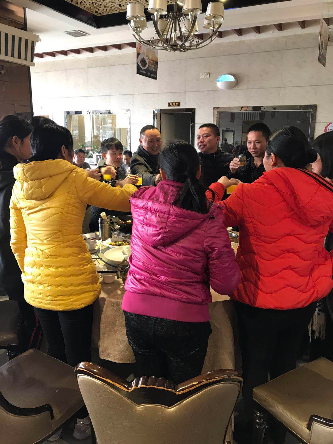BELLA-2018 Chinese New Year Annual Dinner News About Satchel Handbags-1