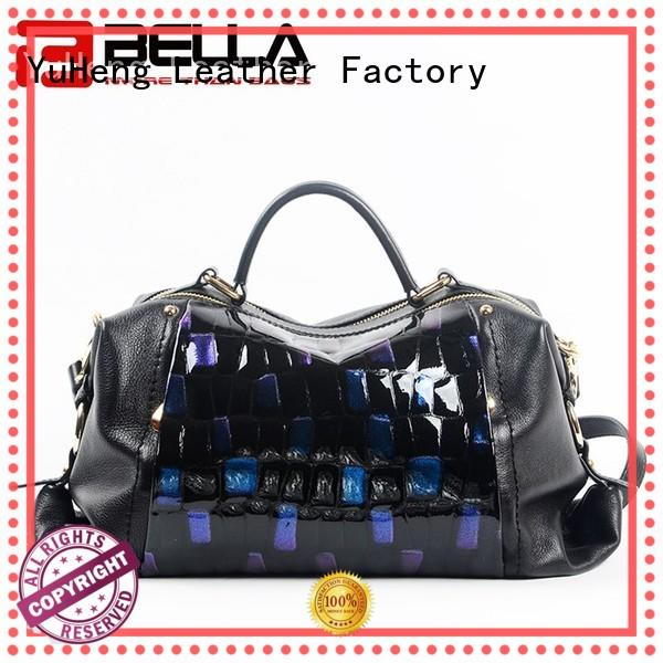 BELLA simple handmade leather bags trader for importer