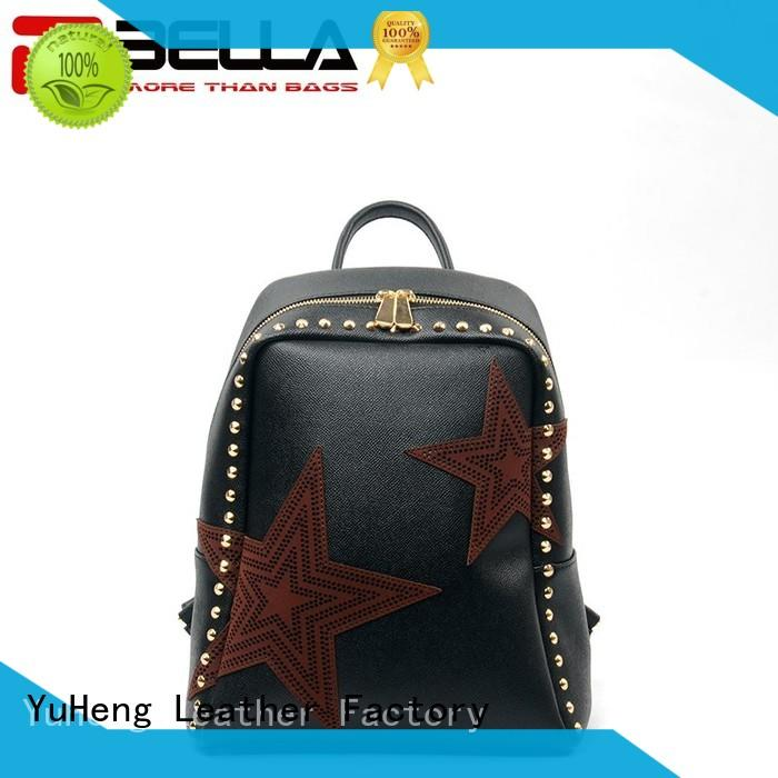 favorable price womens leather backpack deep chinese manufacturer for women