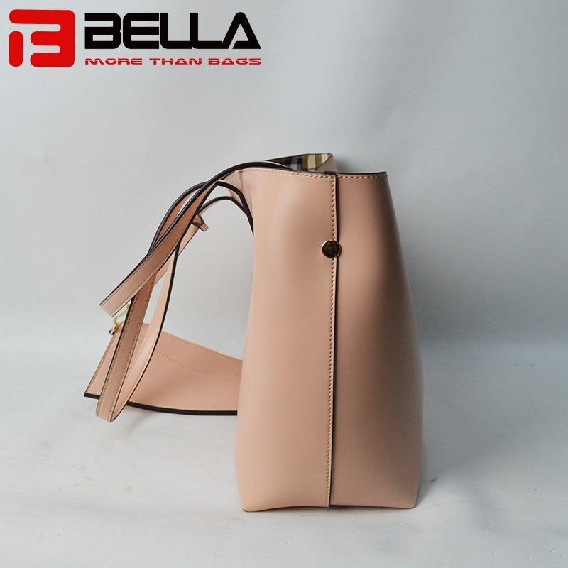 New Design PU Leather Handbag with Detacble Small Bag 201711-3A