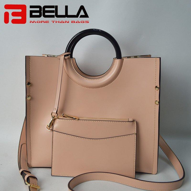 Fashional PU Handbag with Detacble Small Bag  201711-3C