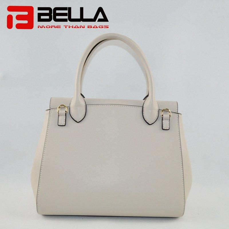 Ladies PU Leather Handbag with Printing Patterns 6015C