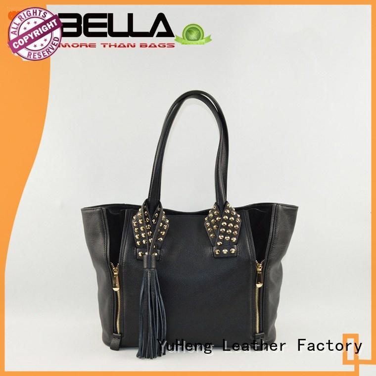best sheepskin leather over the shoulder bag BELLA Brand