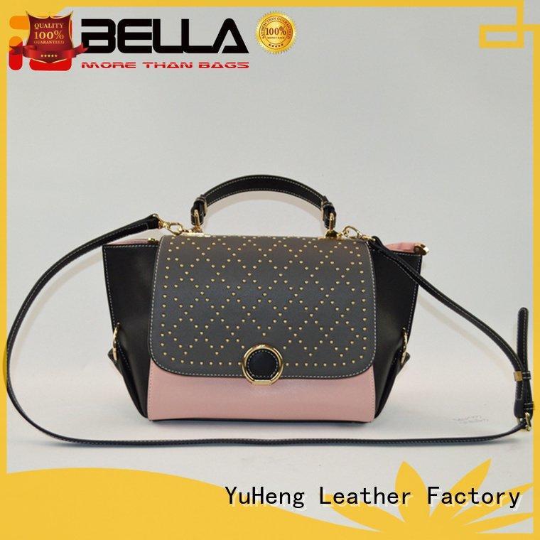 colors cross crossbody pattern BELLA leather crossbody bag