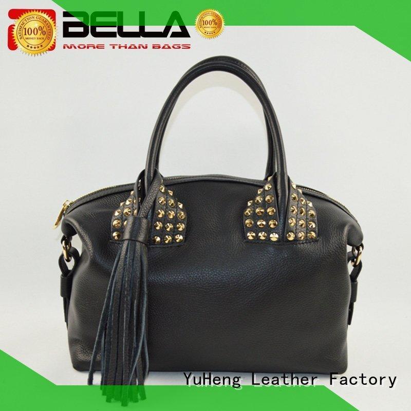 Quality BELLA Brand soft leather shoulder handbags lase