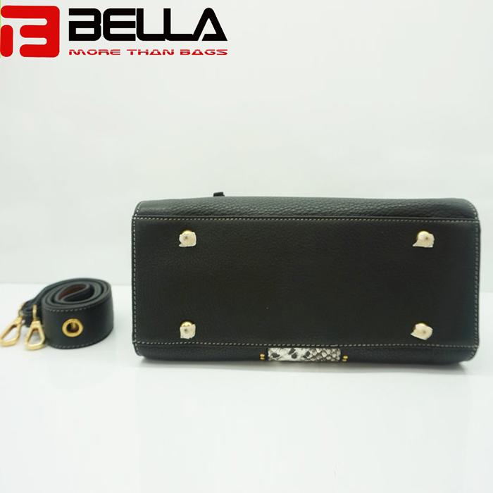 BELLA-High Quality China Handbag Factory Fake Snake Leather Ofj2298-9