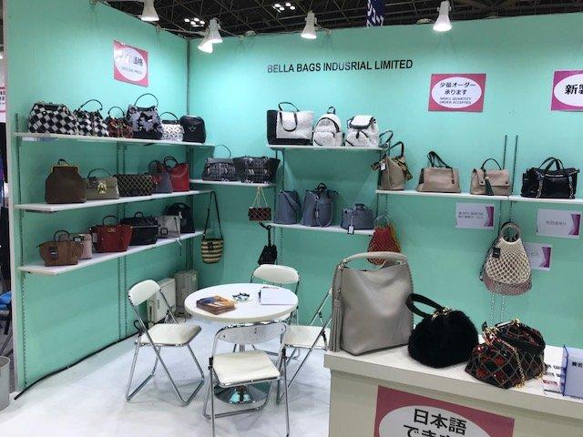 BELLA-April, 2018 Fashion World Tokyo 2018 | Suede Handbags