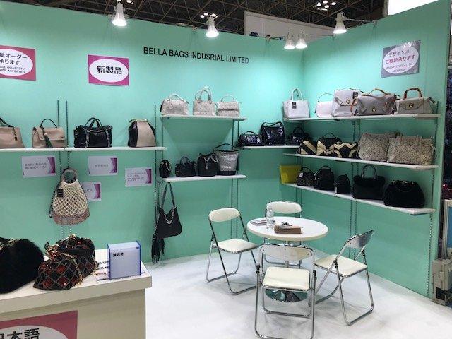 BELLA-April, 2018 Fashion World Tokyo 2018 | Suede Handbags-1