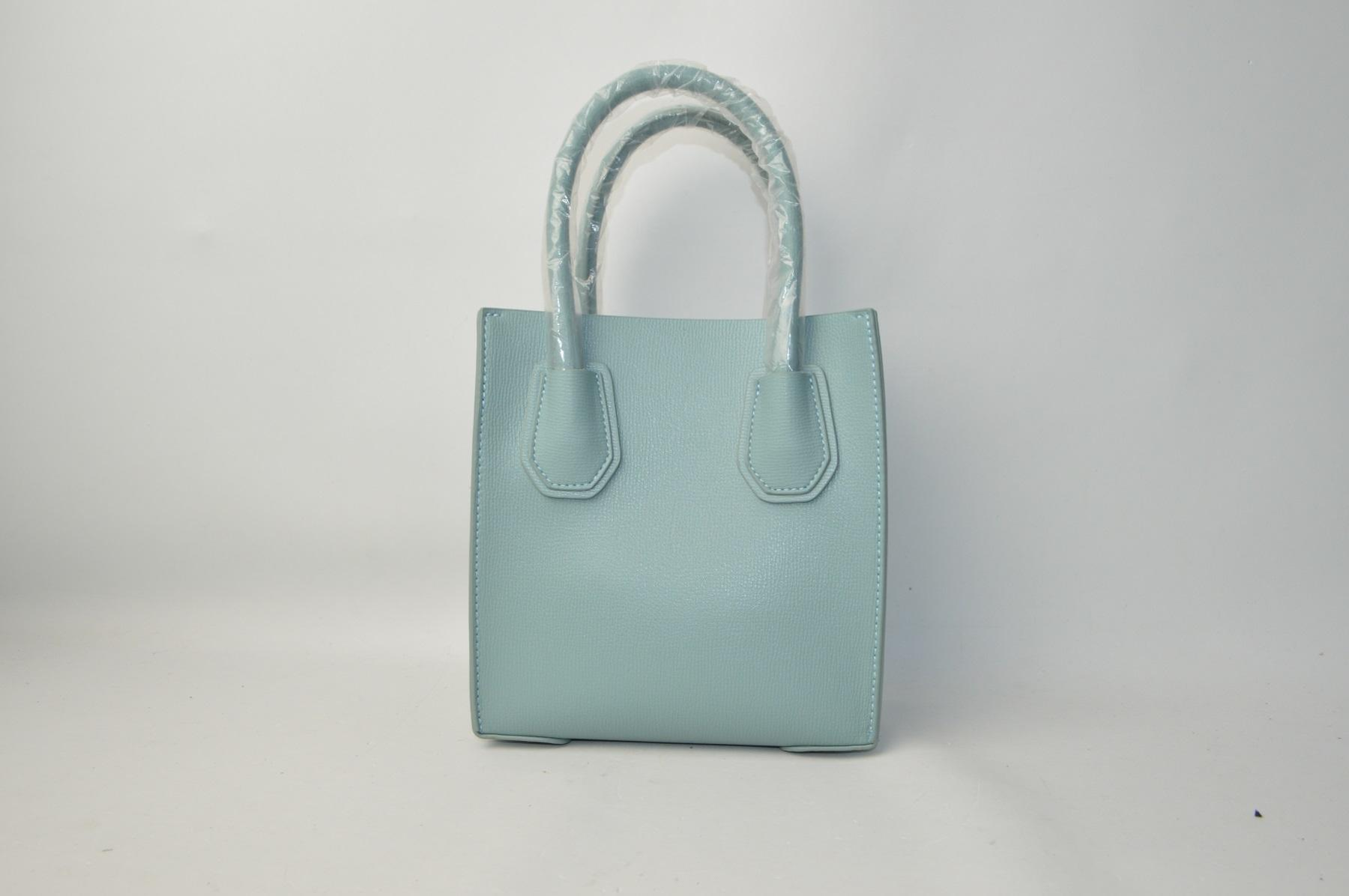 Light blue-green handbag 81Z92GT