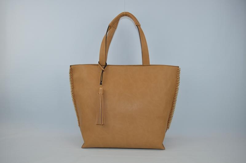 Light brown handbag BE-4571