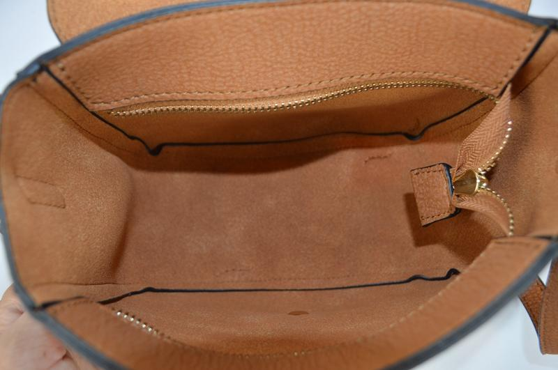 Brown shoulder bag BE-4575