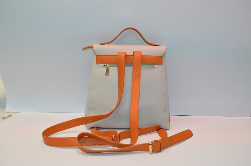 Apricot PU backpack 8817