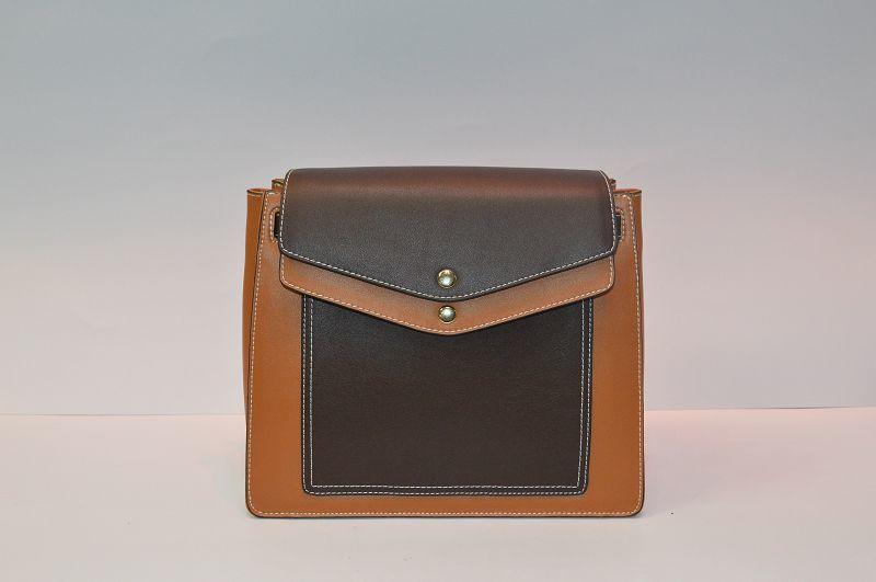 Brown leather Backpack BE-4502