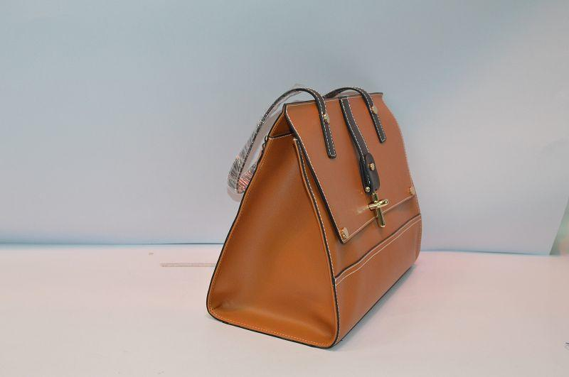 Brown Leather shoulder bag BE-4514