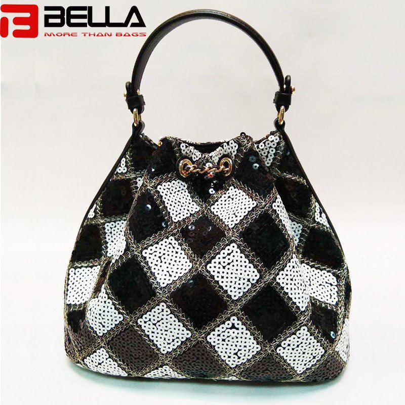 BELLA-High-quality Sequin Women Cross Body Bag Small Handbag With-1