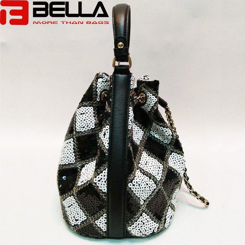 BELLA-High-quality Sequin Women Cross Body Bag Small Handbag With-4
