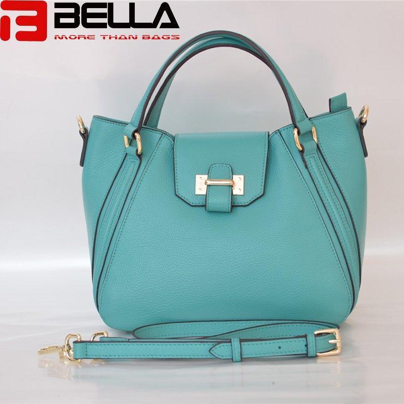 top grain leather handbag guangzhou china manufacturer BE3840