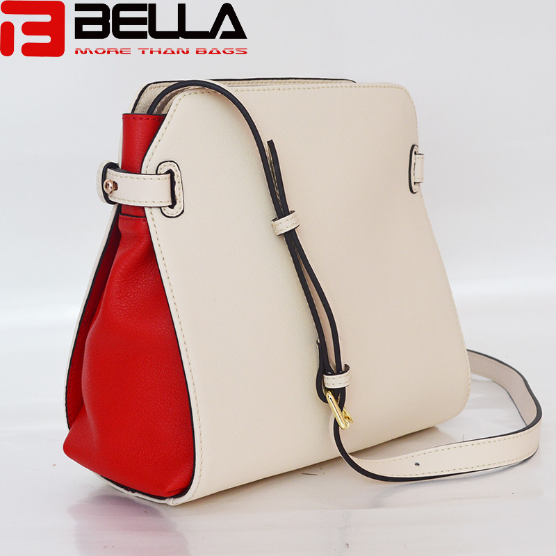 BELLA-Find Manufacture About Contrast Colors Genuine Leather Women-7
