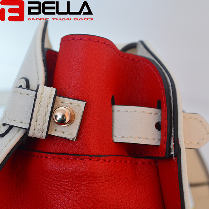 BELLA-Find Manufacture About Contrast Colors Genuine Leather Women-8