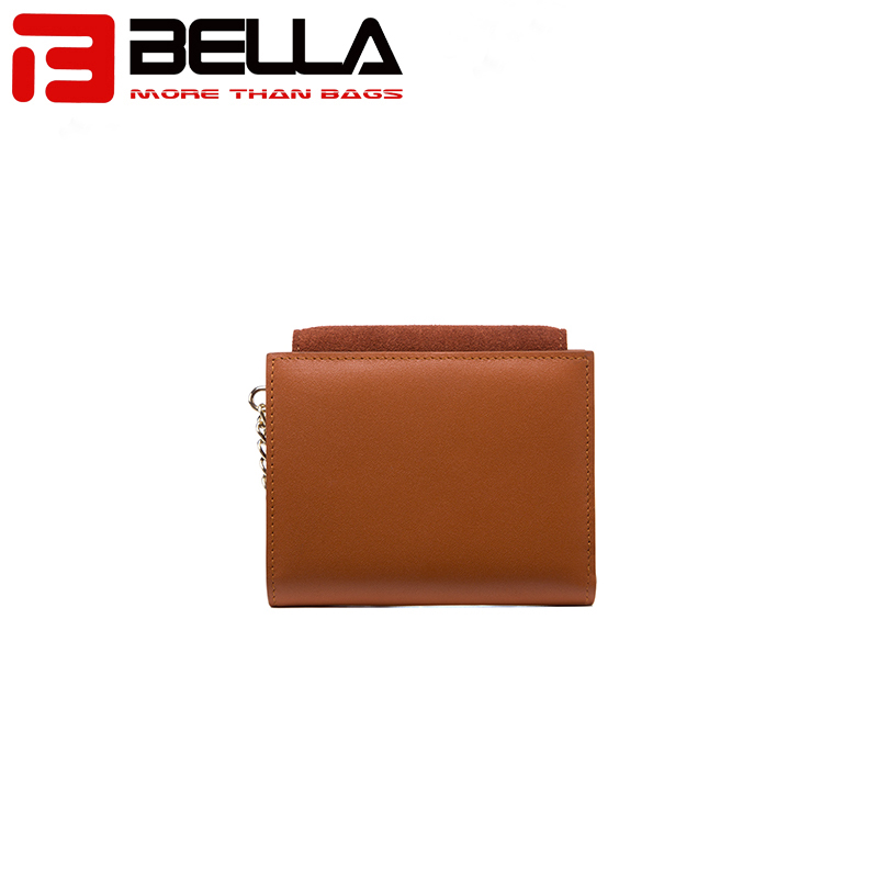BELLA-Professional Leather Wallets For Women Pu Wallet Manufacture-1