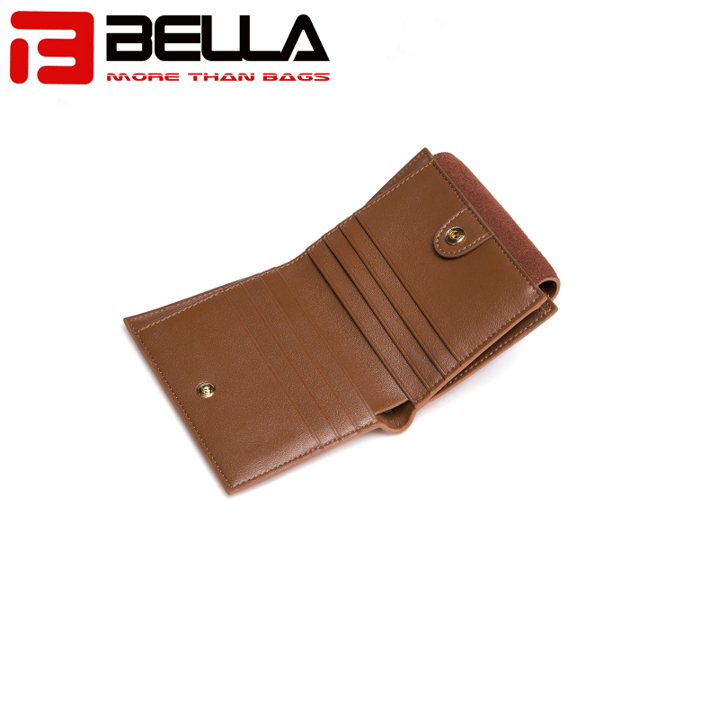 BELLA-Professional Leather Wallets For Women Pu Wallet Manufacture-3