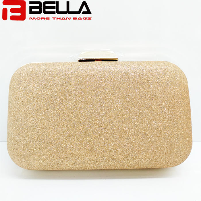 fashion box clutch bag ladies beading bag for Wedding party evening  bag manufaturer BE005