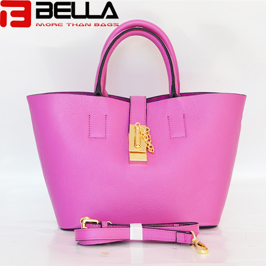 BELLA-Pu Synthetic Leather Tote Handbag China Factory , China Manufacturer ,oem,odm Be3893