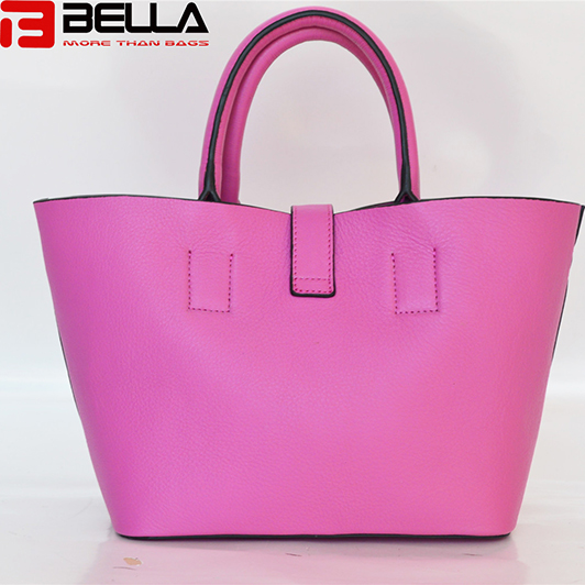 BELLA-Pu Synthetic Leather Tote Handbag China Factory , China Manufacturer ,oem,odm Be3893-1