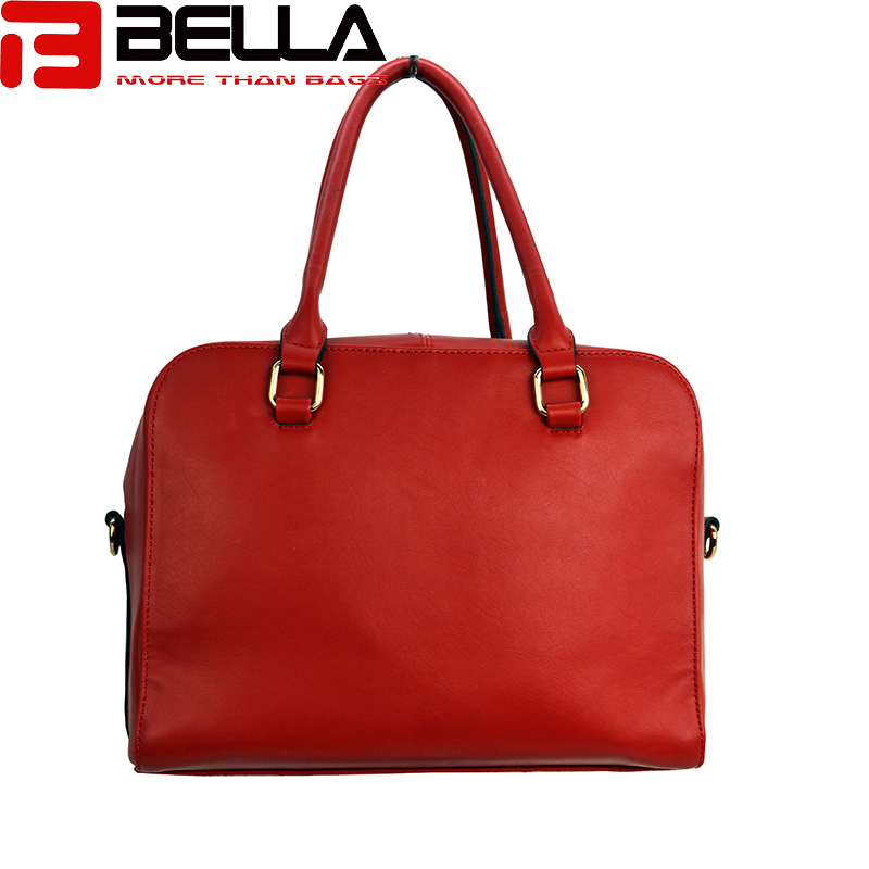 BELLA-Fashion Handbag Fabric Chapter Handbag China Factory Be1514-8