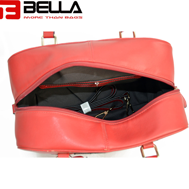 BELLA-Fashion Handbag Fabric Chapter Handbag China Factory Be1514-9