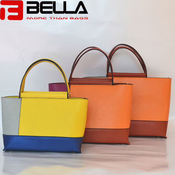 BELLA-Synthetic Leather Handbag Colorful Handbag China Manufacture Oem Odm Be3888-10