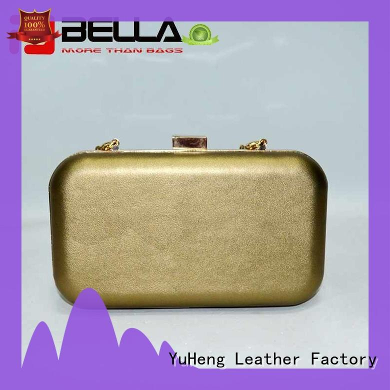 BELLA strict inspection black leather handbags great deal for importer