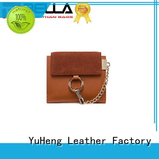 BELLA favorable price pu leather wallets exporter for girl