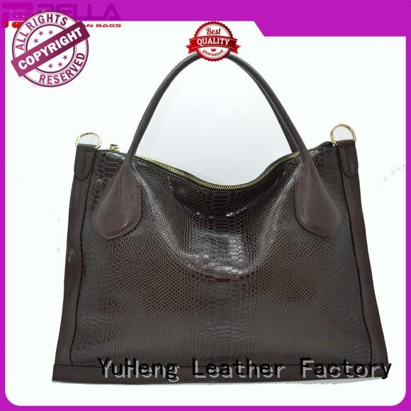 BELLA handle leather tote bags online factory for women