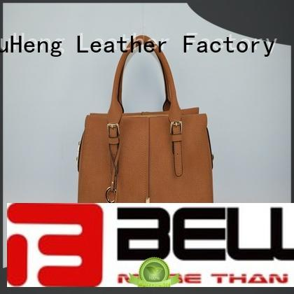 handle pu bag canvas BELLA