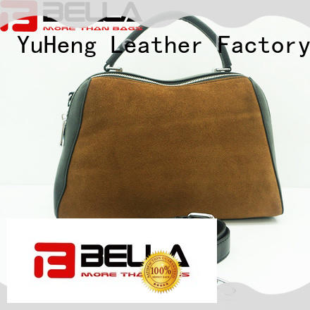 BELLA special ladies leather handbags with price factory for importer