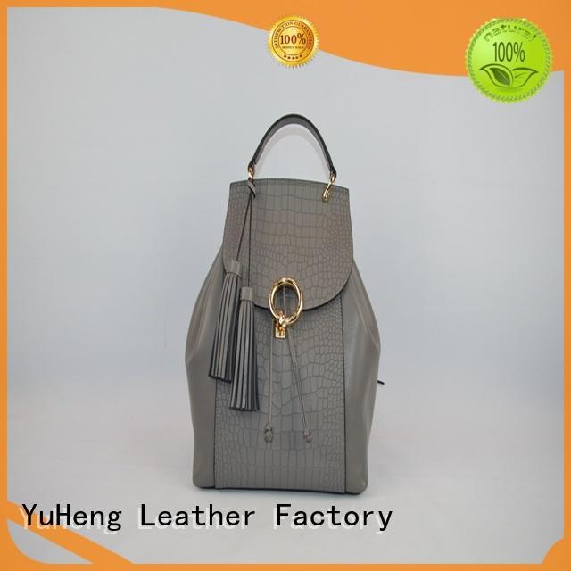 backpack shoulder bag crocodile womens leather backpack bags BELLA Brand