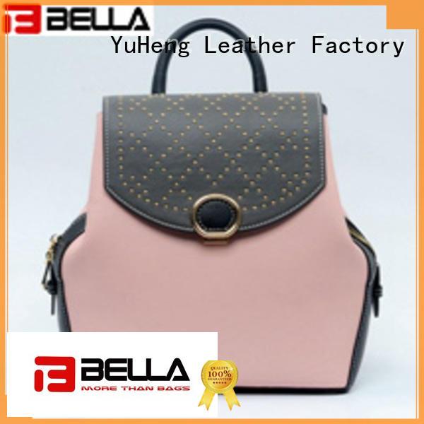 Quality BELLA Brand backpack shoulder bag gray be4772
