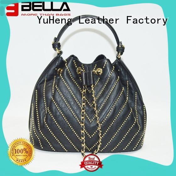 BELLA metal leather crossbody handbags export worldwide for women
