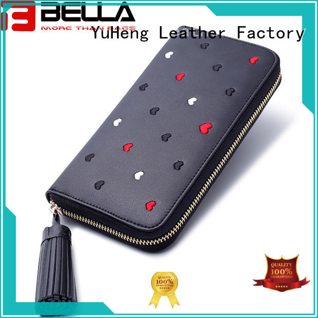 new wholesale leather wallets women exporter for girl