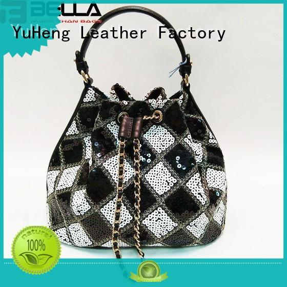 BELLA metal leather crossbody bag sale great deal for importer