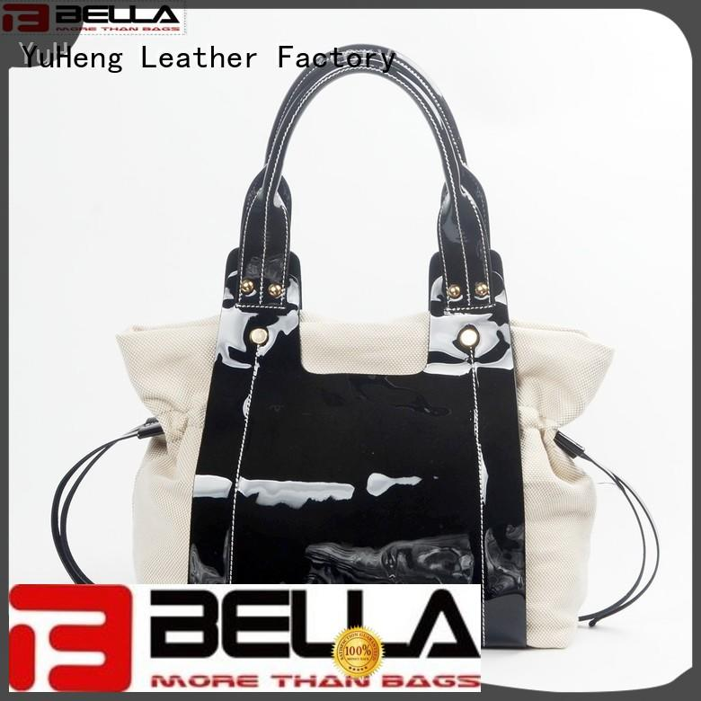 BELLA Brand trendy strap classicc soft leather shoulder handbags