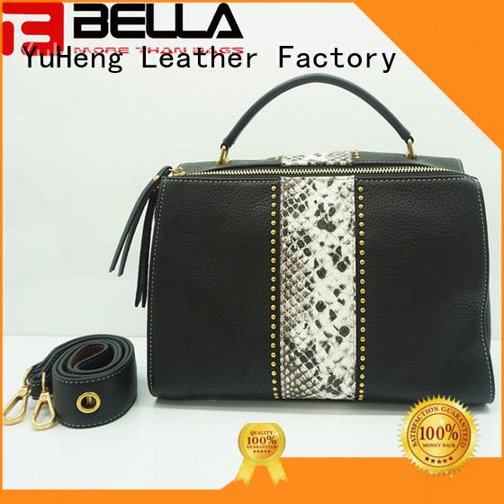 BELLA metal handmade leather bags factory for distribution