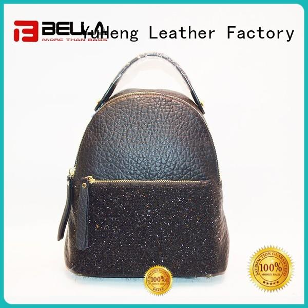 BELLA strict inspection womens leather backpack handbags manufacturer for women